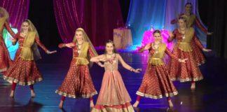 Polish women dancing indian song